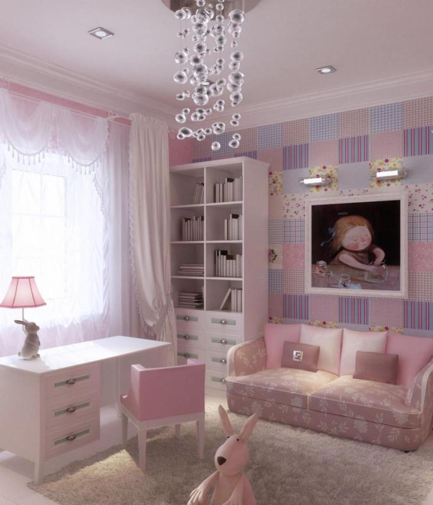 Image of: Little Girls Bedroom Design