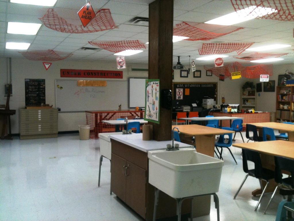 Image of: Math Classroom Decorations