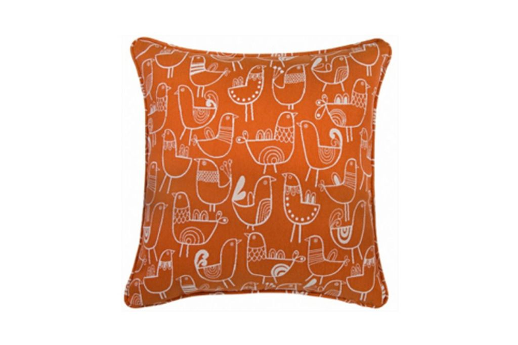 Image of: Orange Decor Pillows