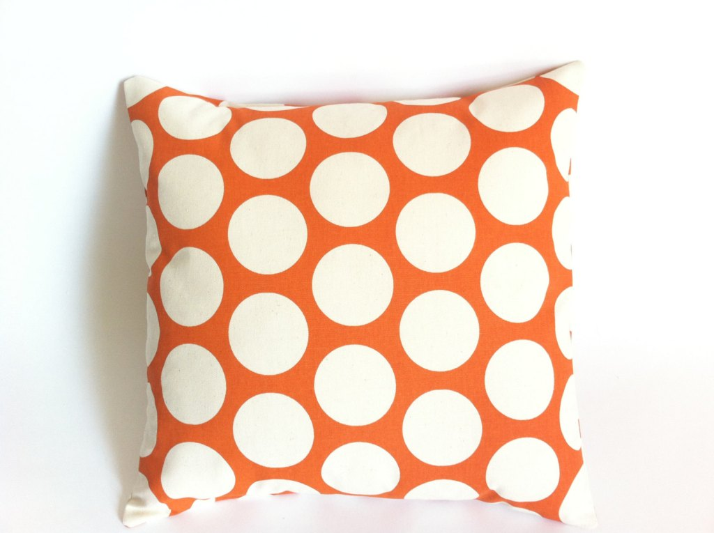 Image of: Orange Pillow
