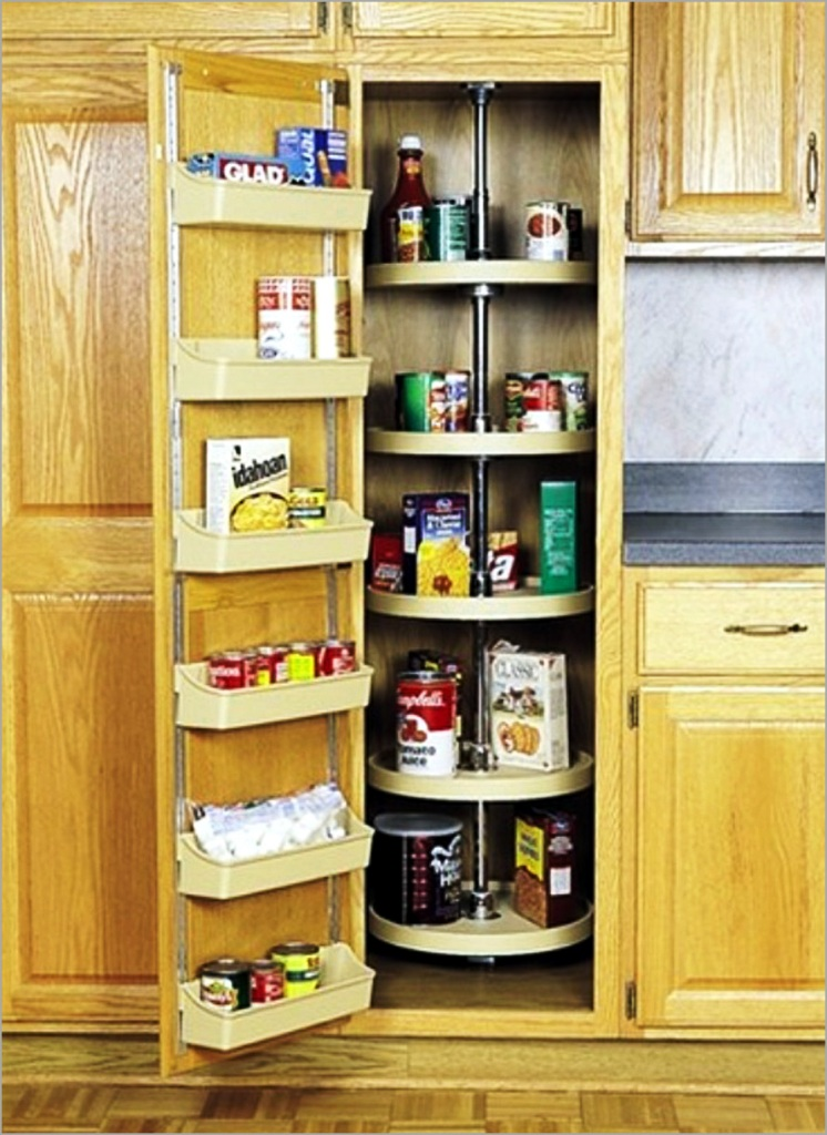 Image of: Pantry Storage Shelving Ideas