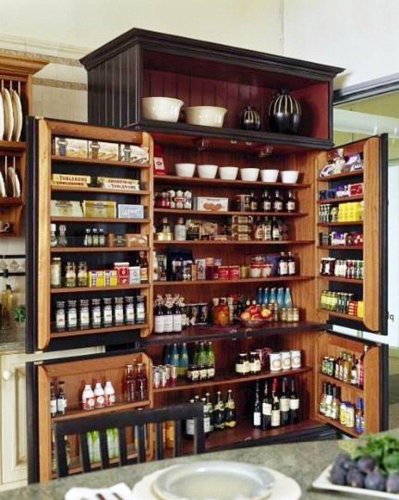 Image of: Pantry Storage Solutions Diy