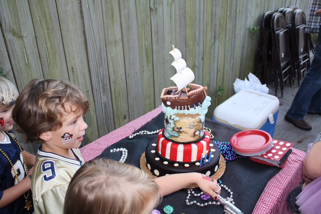 Image of: Pirate Cake Pan