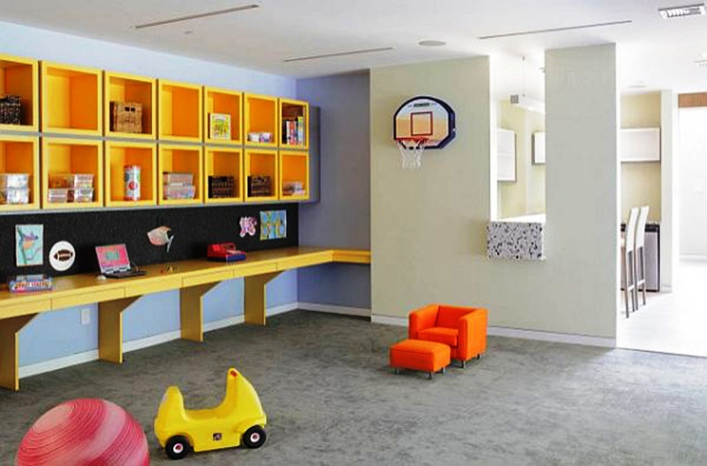 Image of: Playroom Decorating Idea