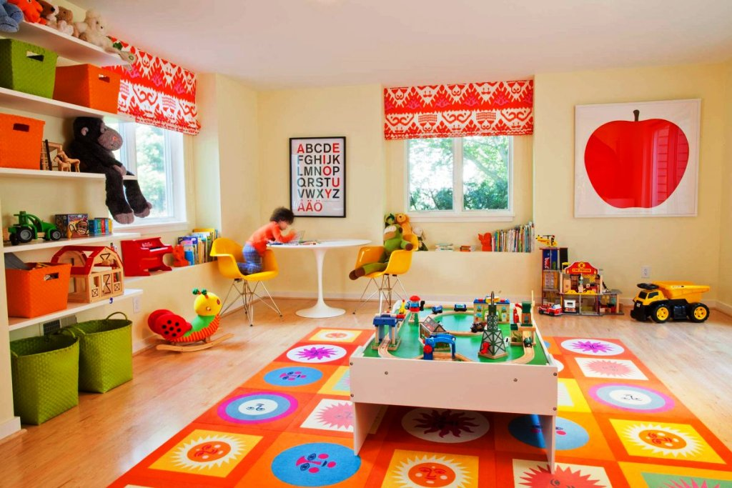 Image of: Nice Playroom Decorating Ideas