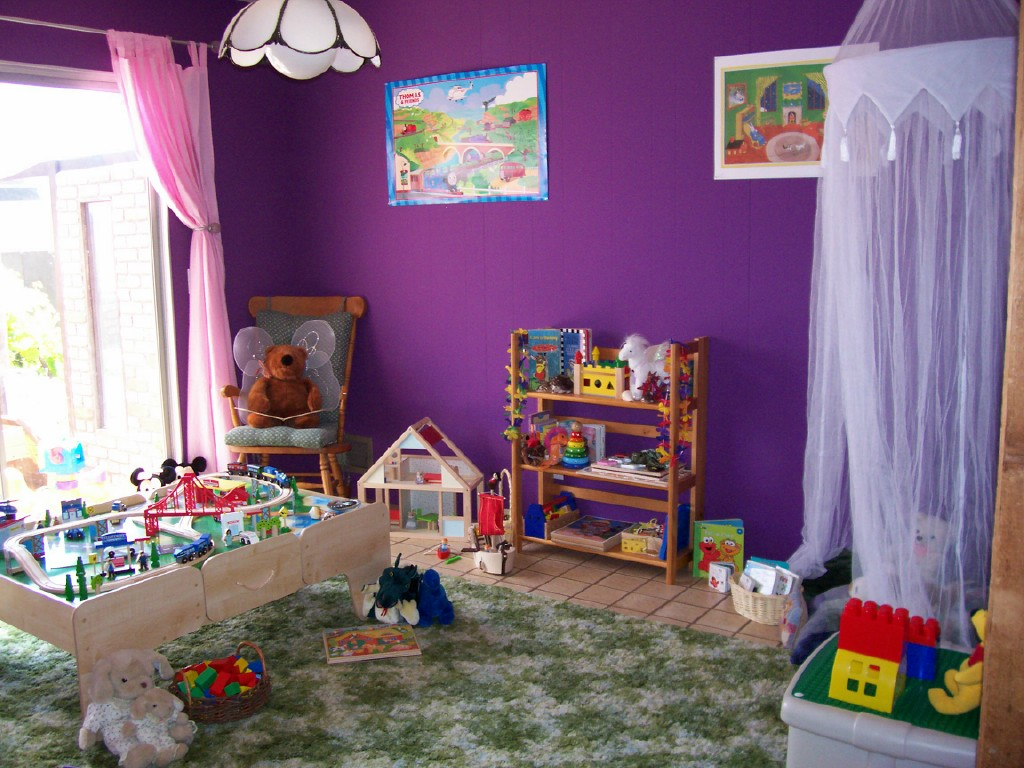 Image of: Playroom Decorating