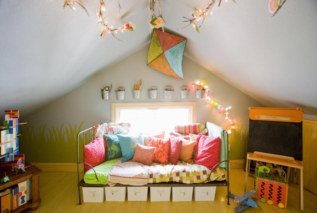 Image of: Playroom Decorations