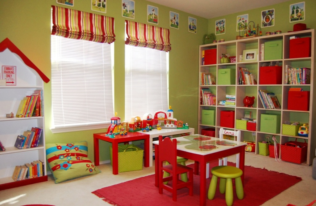 Image of: Playroom Design Ideas