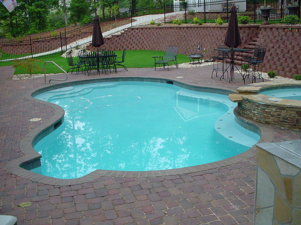 Image of: Pool Landscape Designs Ideas
