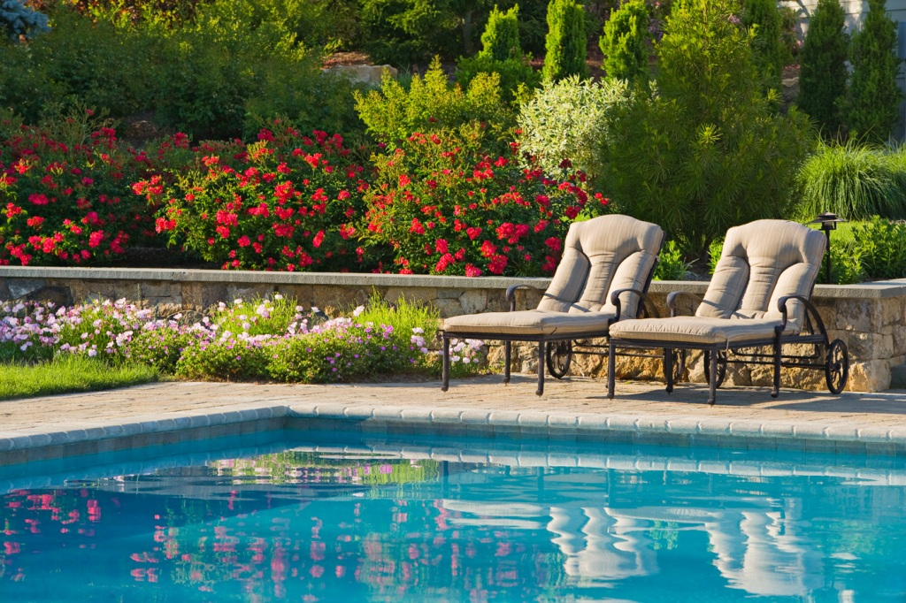 Image of: Pool Landscaping Ideas Photos