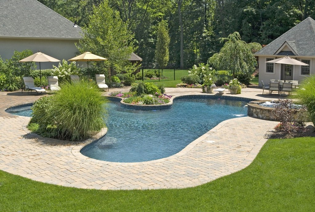 Pool Landscaping Pictures Inground Pools