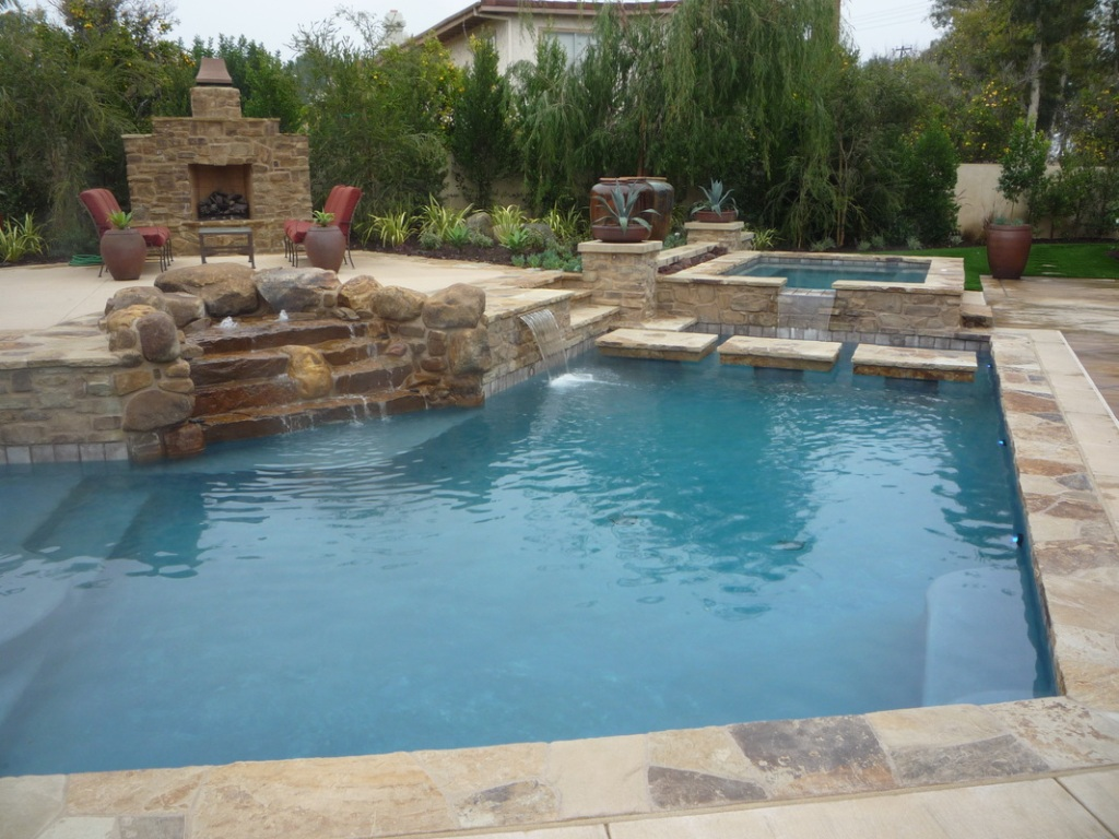 Pool Landscaping Rocks