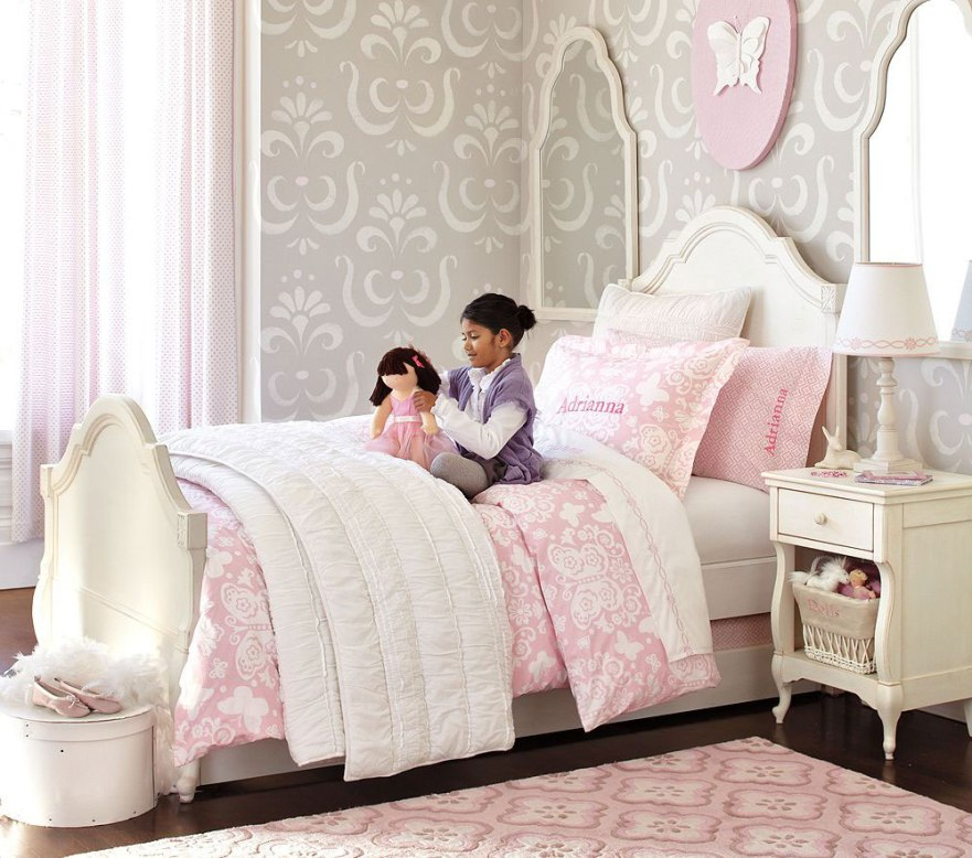 Image of: Princess Bedroom Accessories