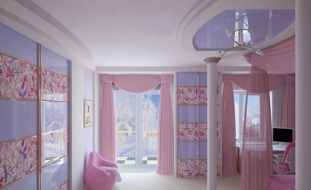 Image of: Princess Bedroom Decor