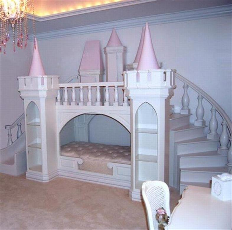 Princess Themed Bedrooms For Girls