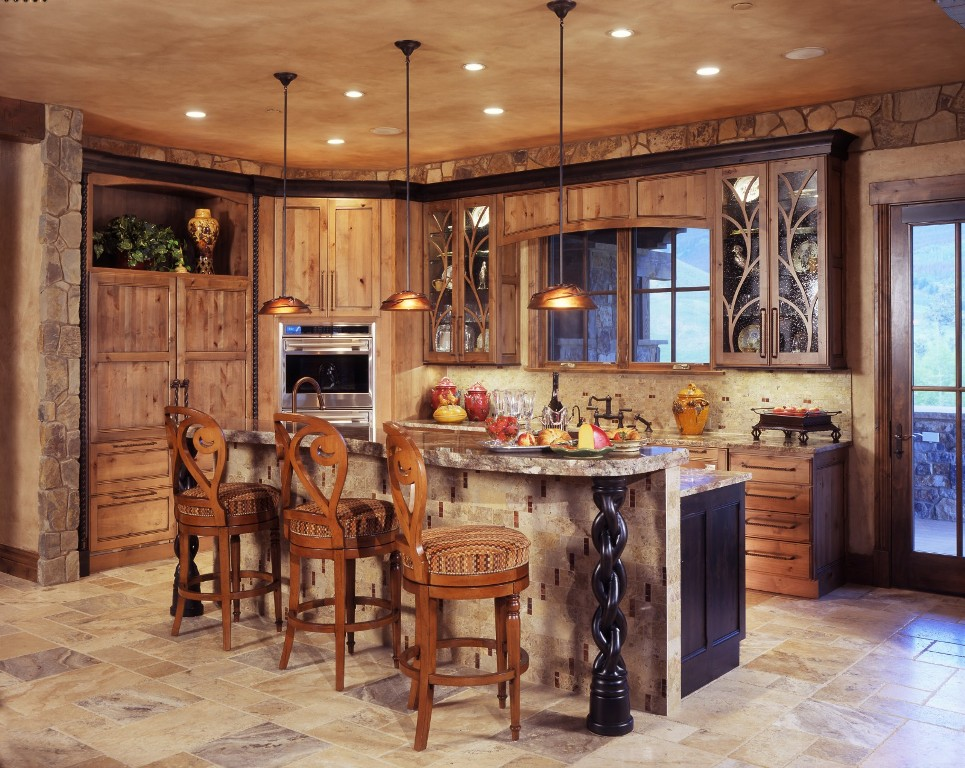 Image of: Rustic Decorating