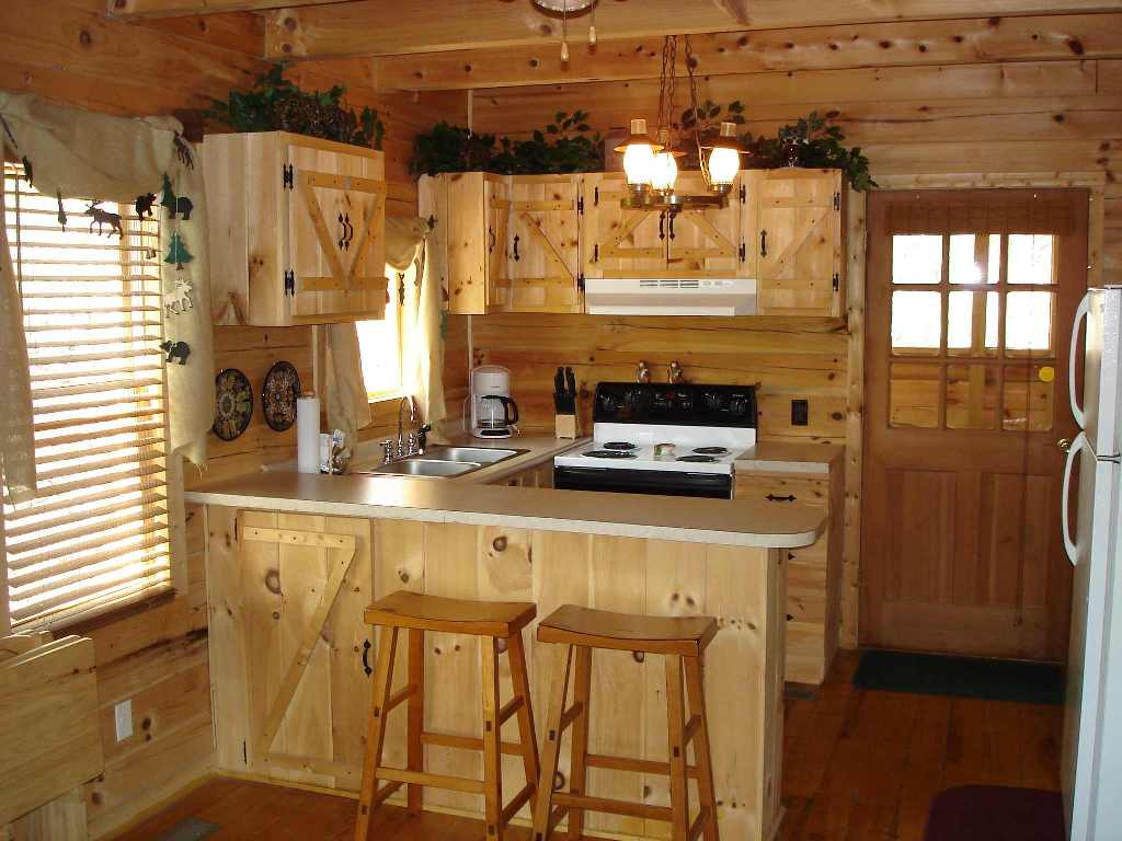 Image of: Rustic Kitchens Ideas