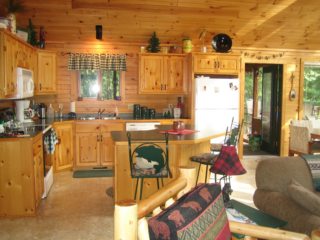 Image of: Rustic Lodge Decor