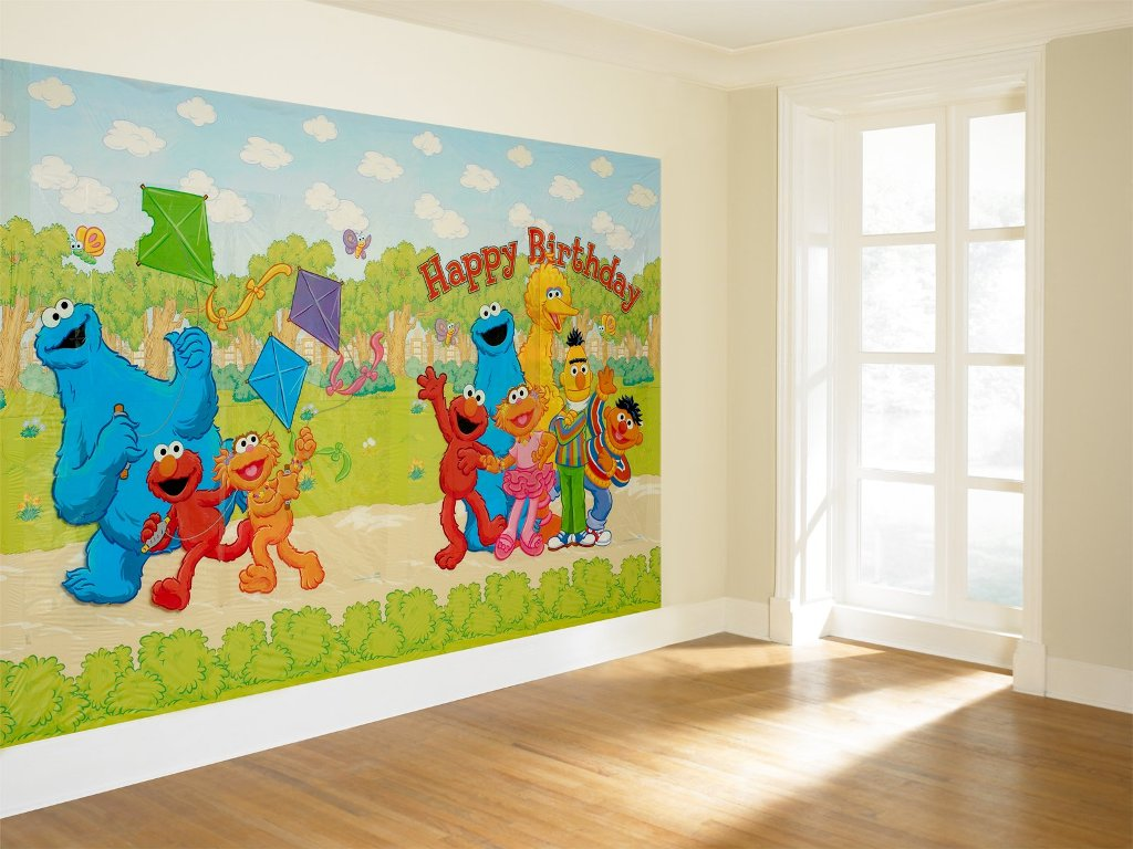 Image of: Sesame Street Parties