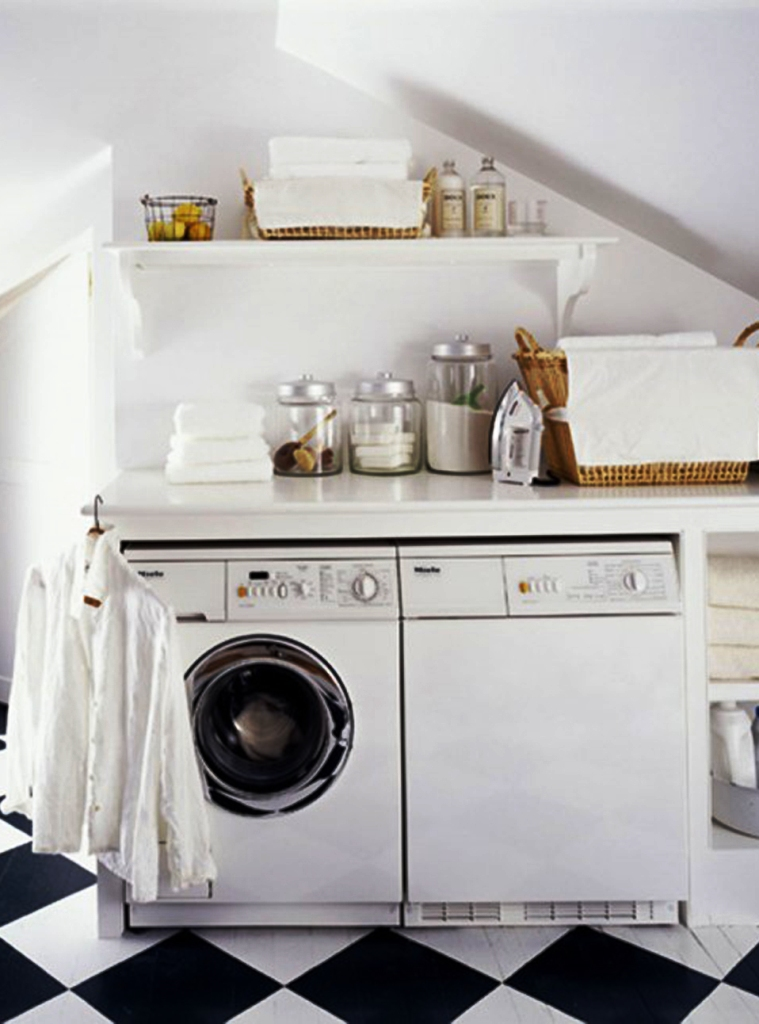Image of: Small Laundry Room Ideas Closet