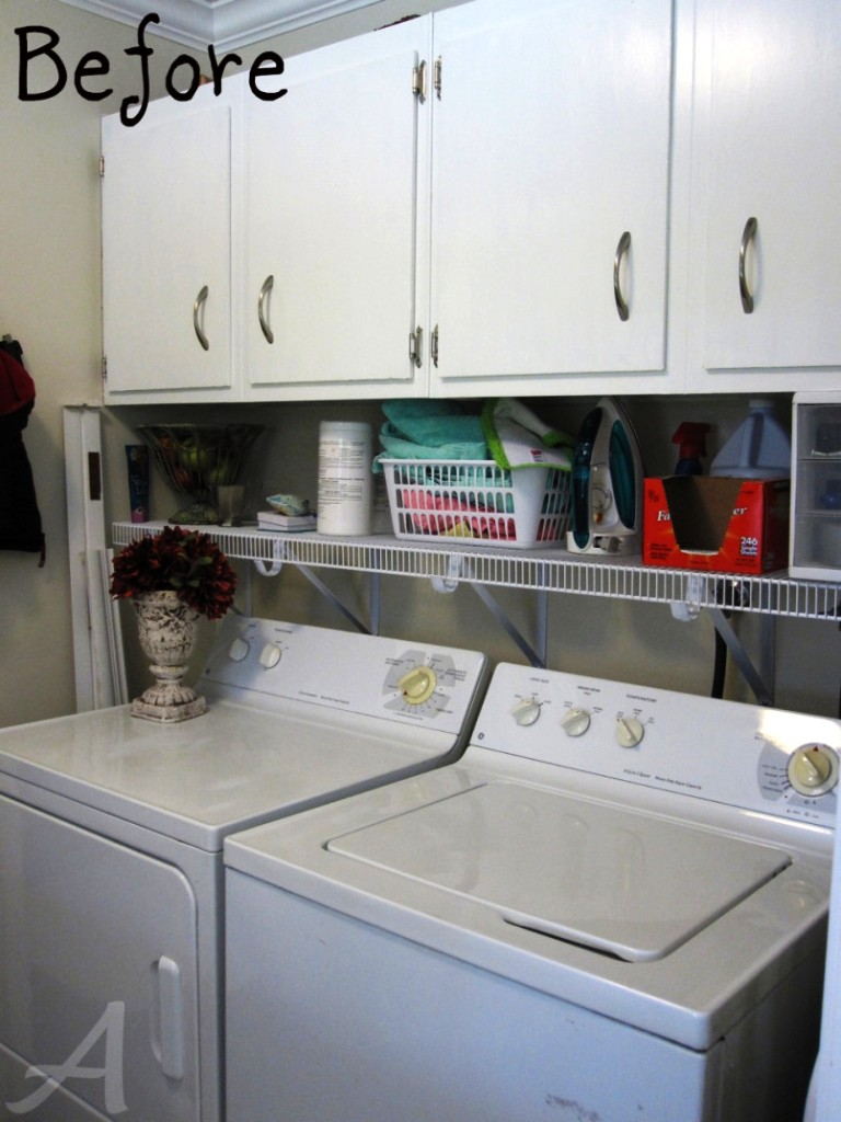 Image of: Small Laundry Room Paint Ideas