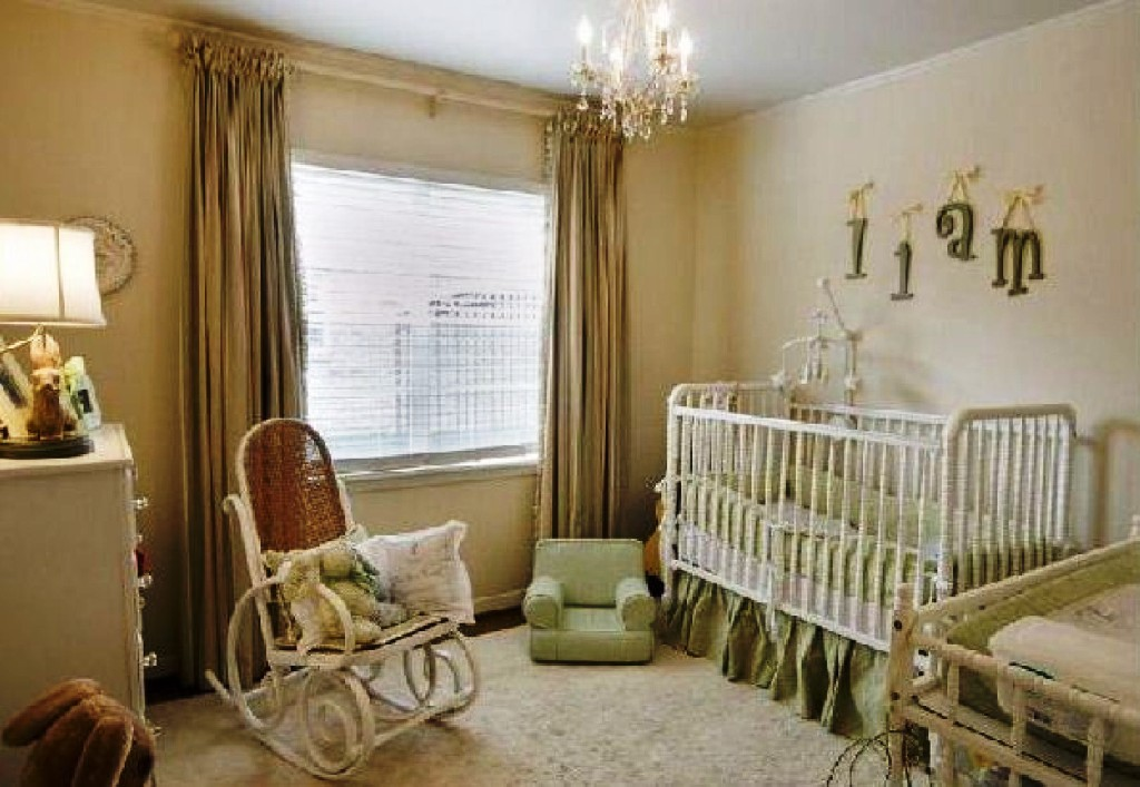 Image of: Small Nursery Design