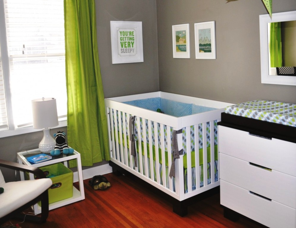 Image of: Small Nursery Room Idea