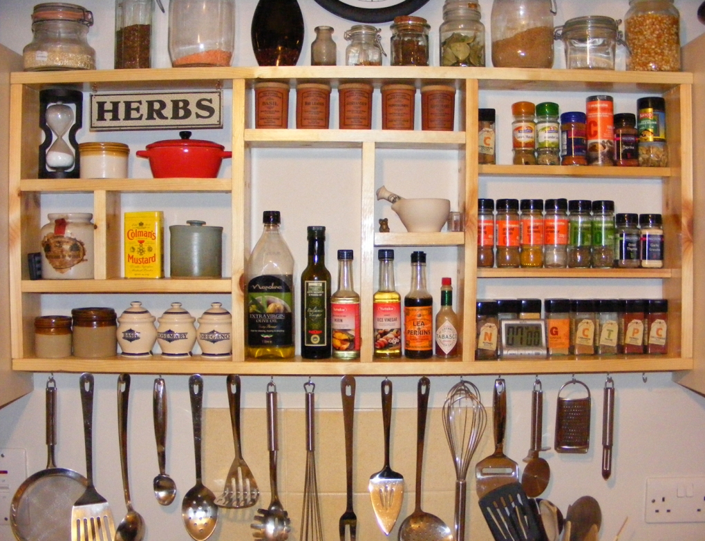 Image of: Spice Storage Solutions