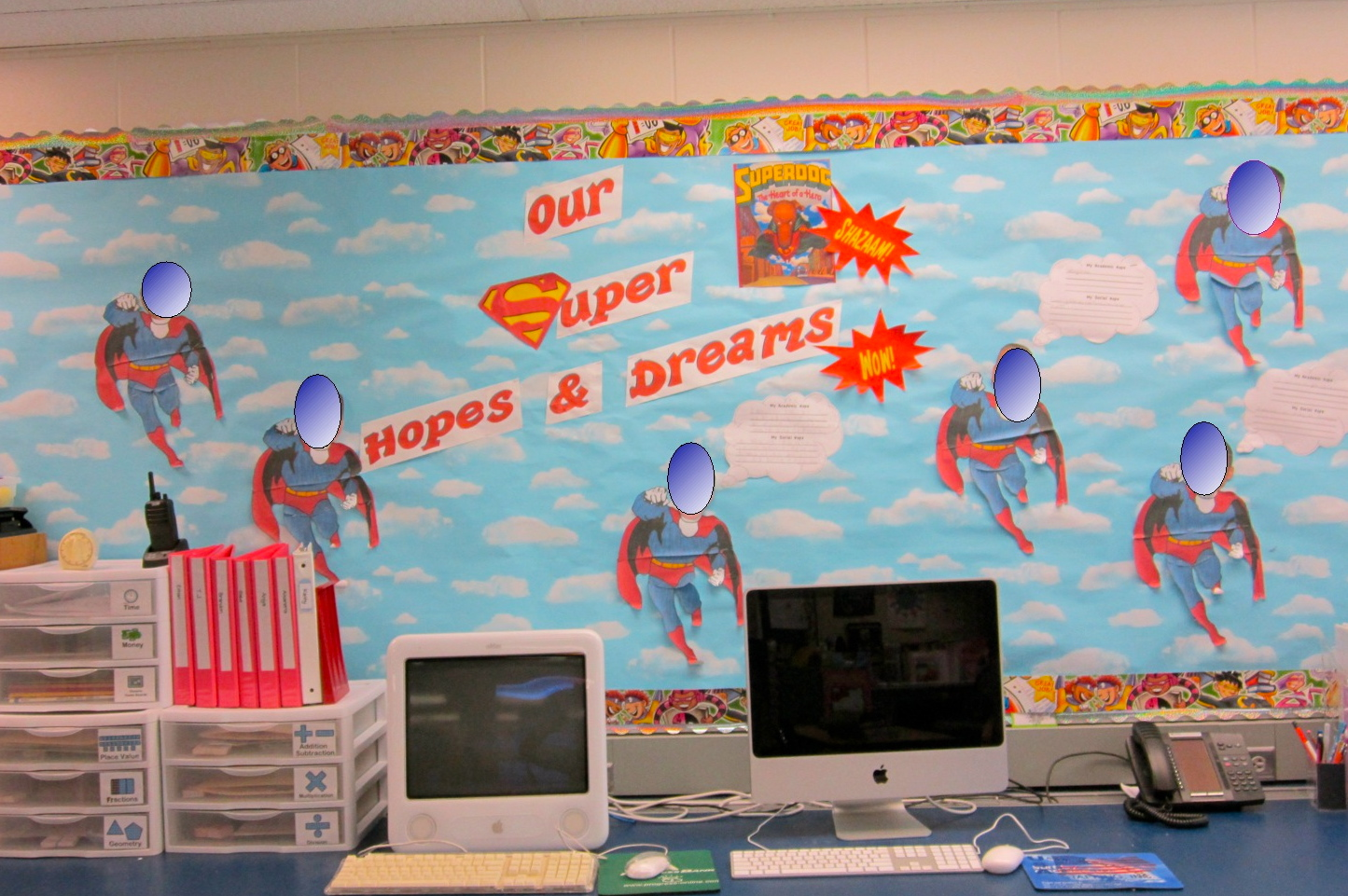 Image of: Superhero Themed Classroom