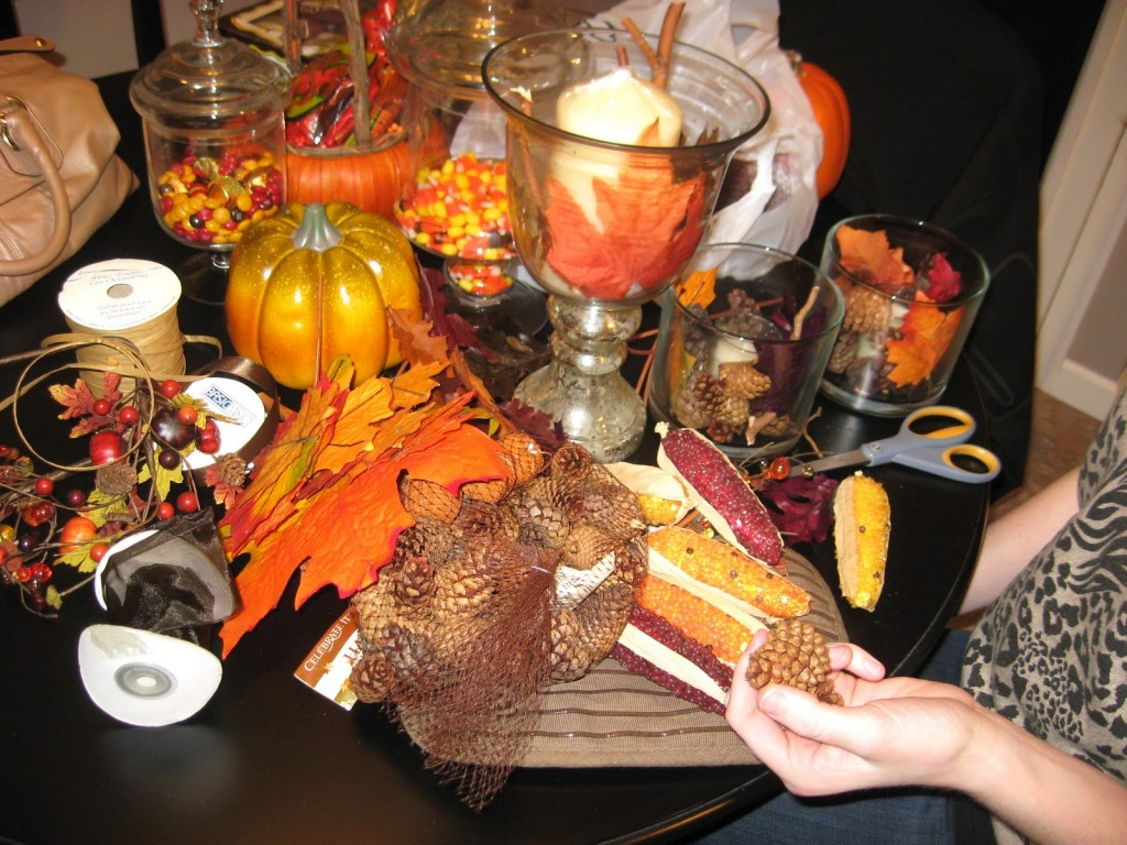 Image of: Thanksgiving Dinner Decor