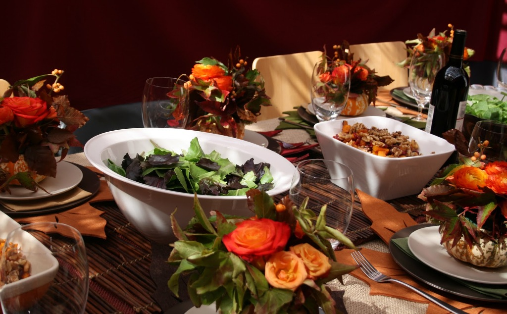 Image of: Thanksgiving Home Decorating