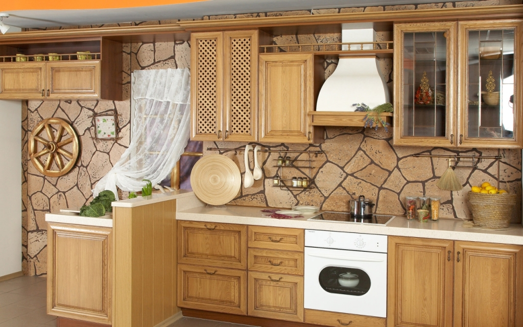 Image of: Tuscan Kitchen Decorations