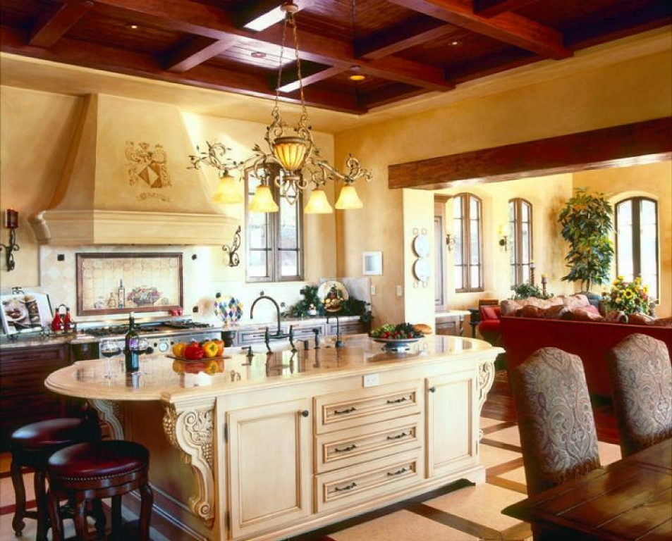 Image of: Tuscan Kitchen Lighting