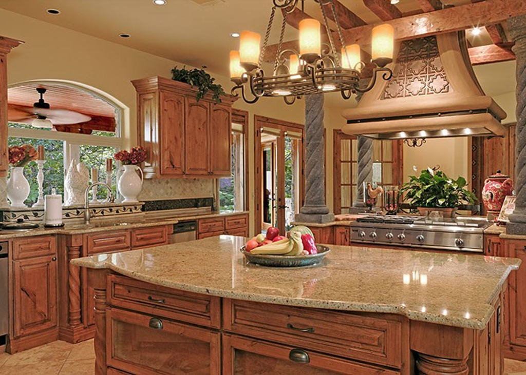 Image of: Tuscan Kitchen