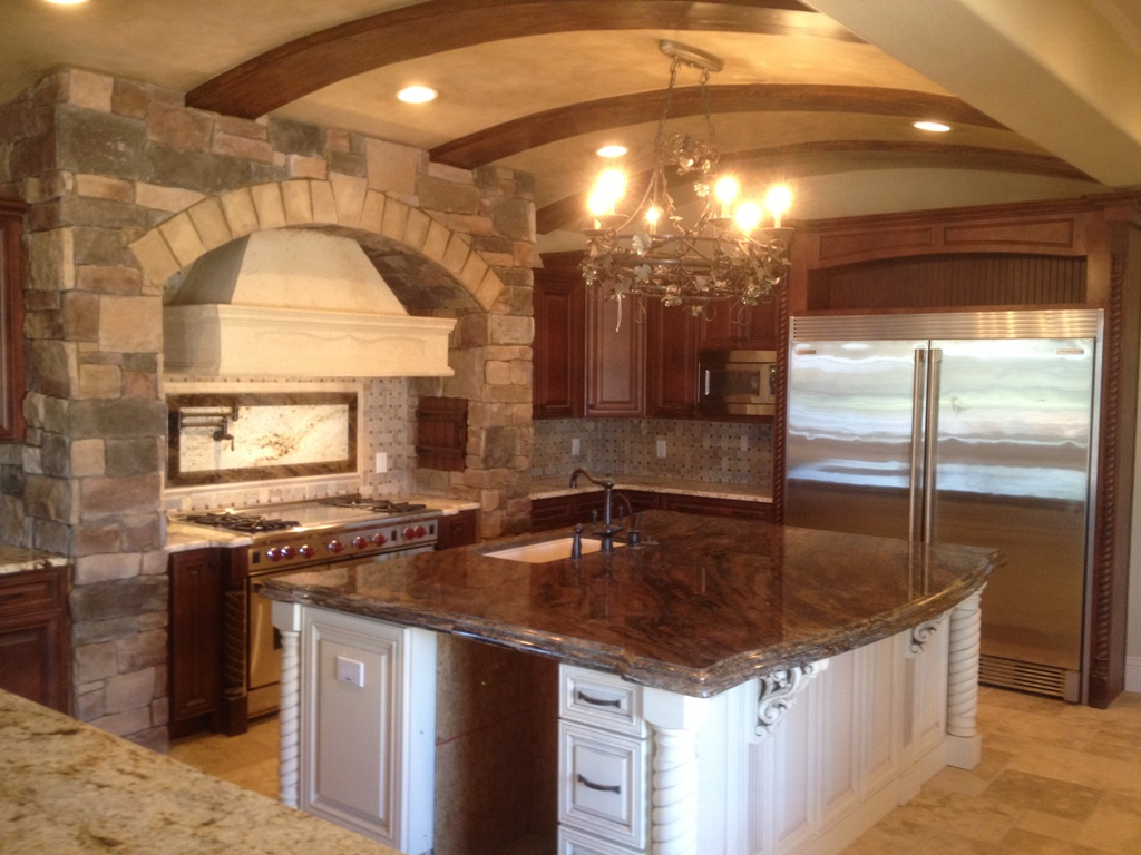 Image of: Tuscan Kitchens Ideas