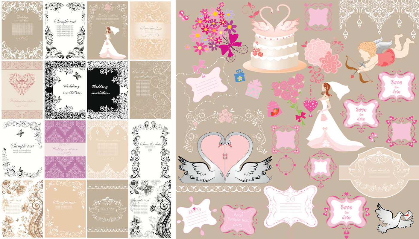Image of: Vintage Wedding Themes