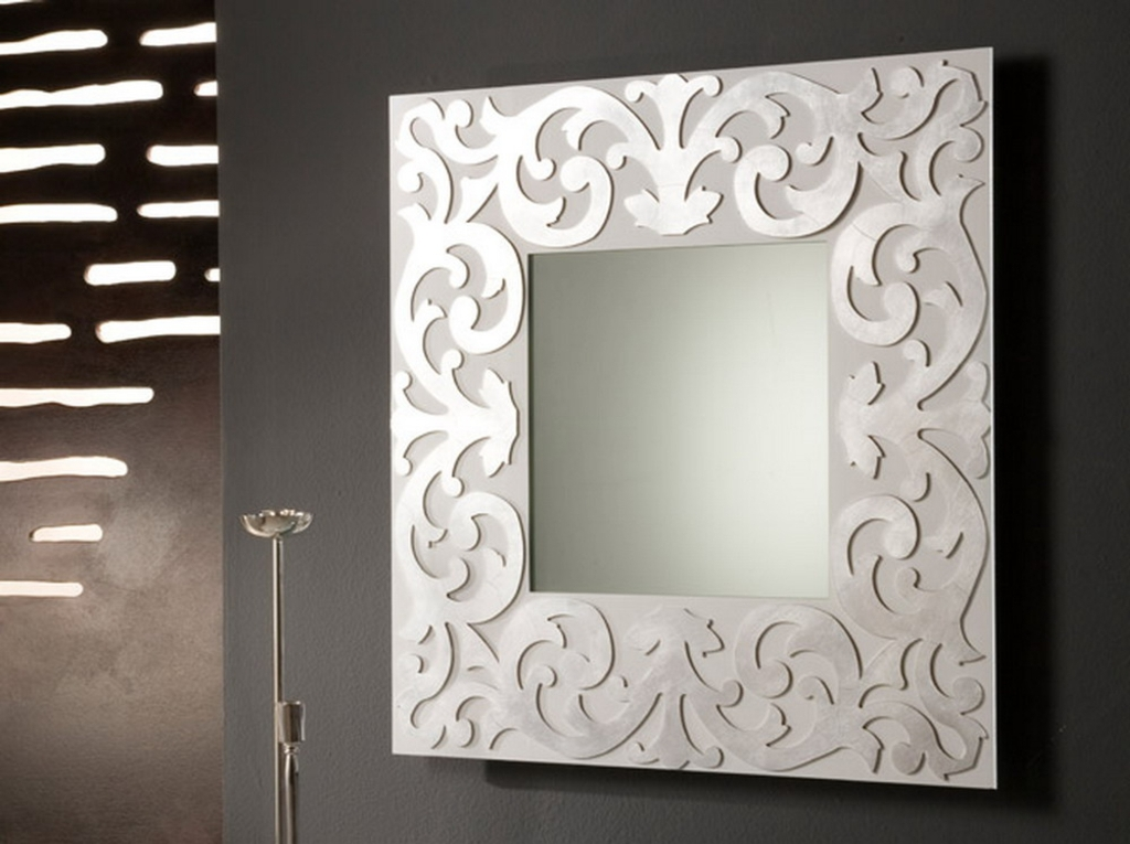 Image of: Wall Mirror Art