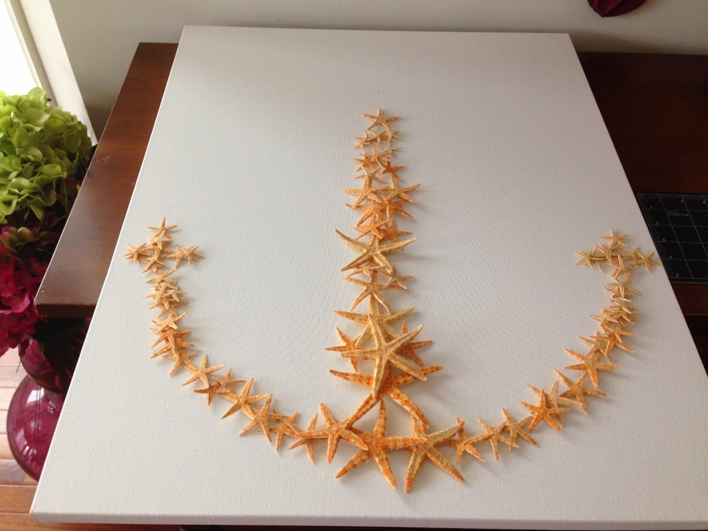 Wooden Starfish Decorations