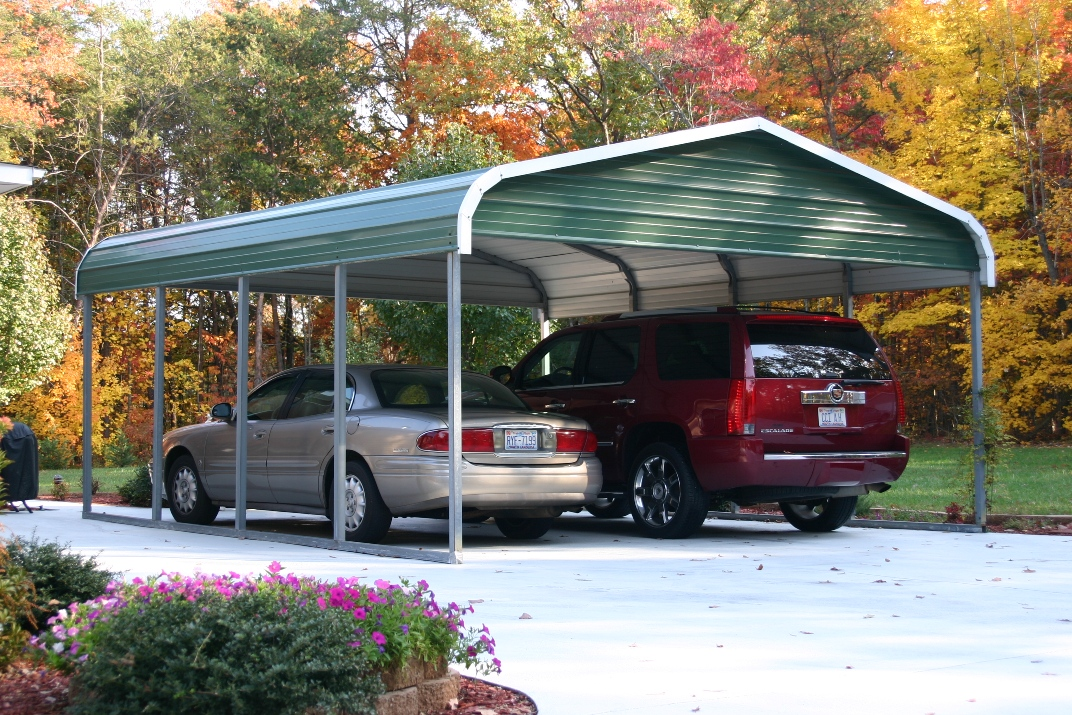 Image of: 10×20 Carport Canopy