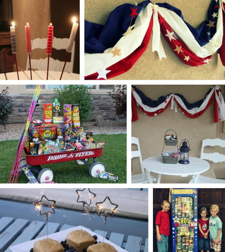 Image of: 4th of July Decorations to Make