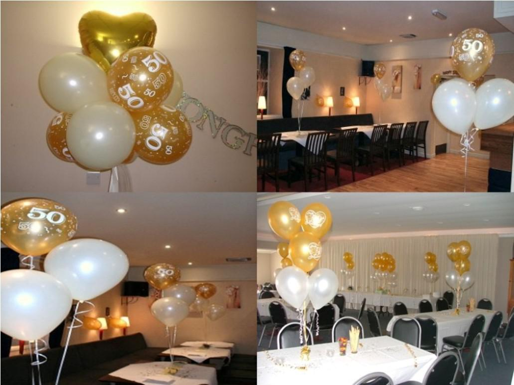 Image of: 50th Wedding Anniversary Decorations Cheap