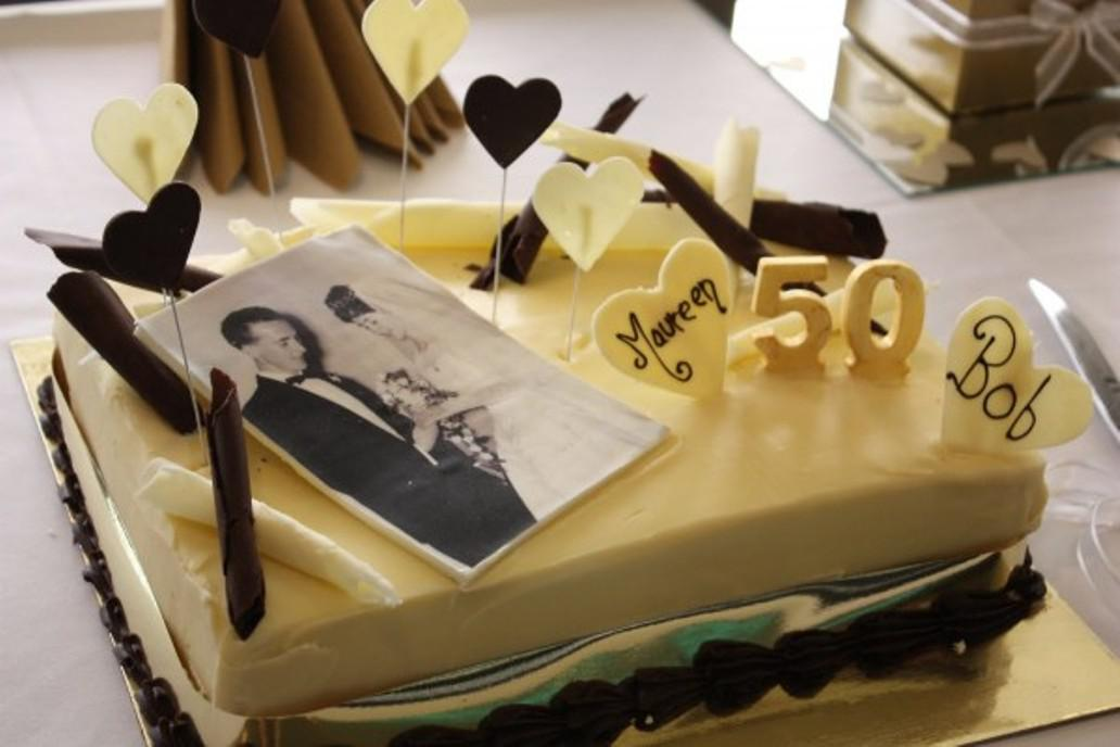 Image of: 50th Wedding Anniversary Party Decorations