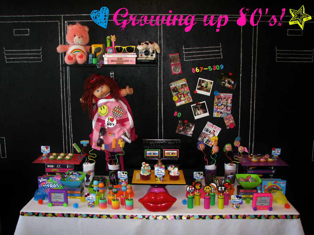 Image of: 80s Party Favors