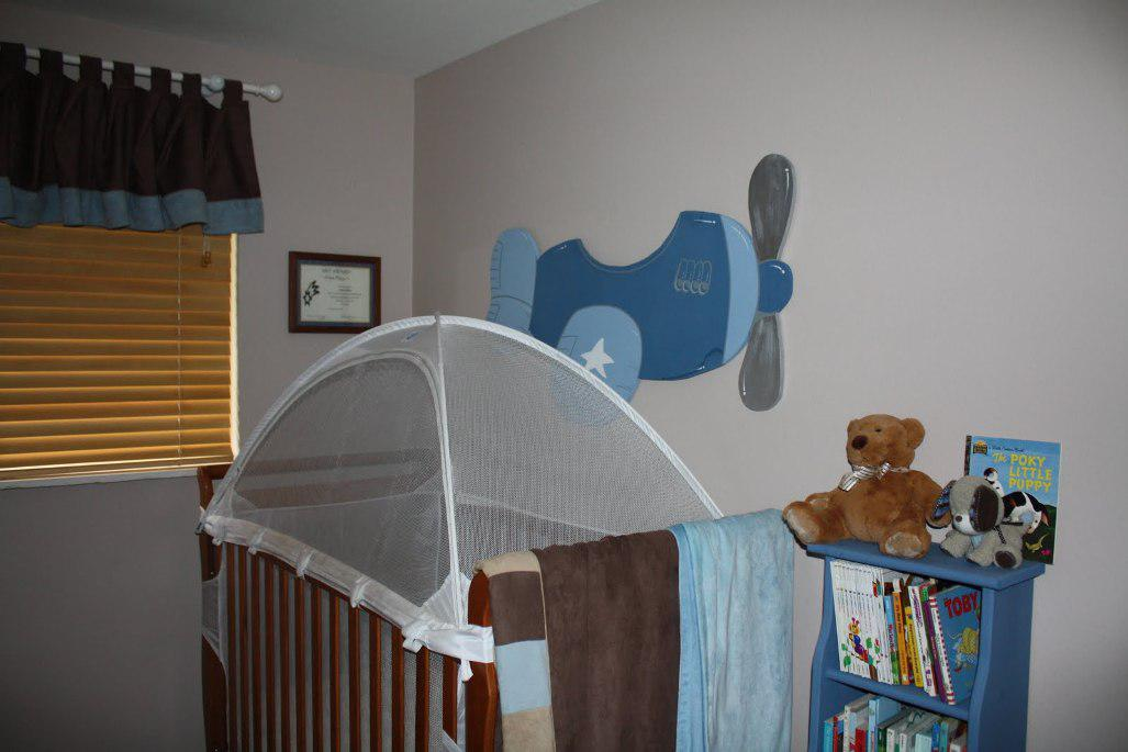 Image of: Airplane Decor for Kids