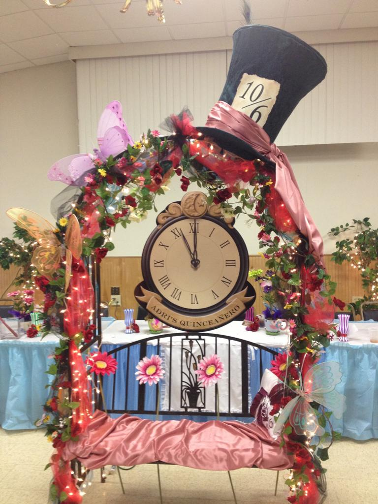 Alice in Wonderland Table Centerpieces