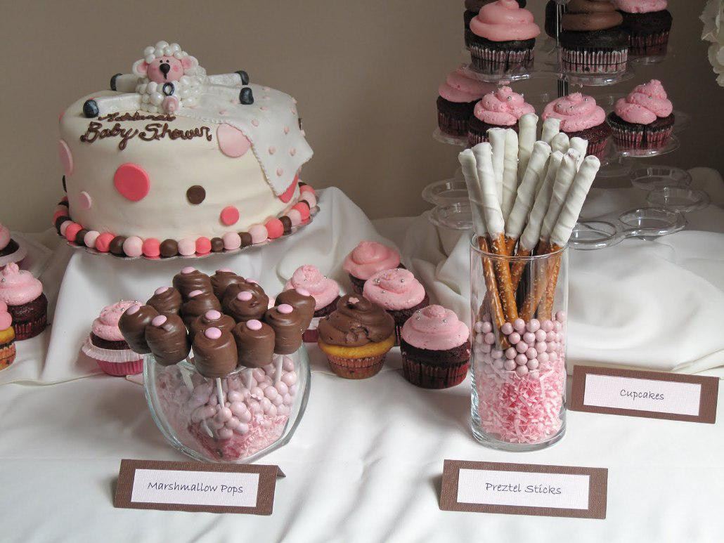 Image of: Baby Girl Shower Decorations Ideas