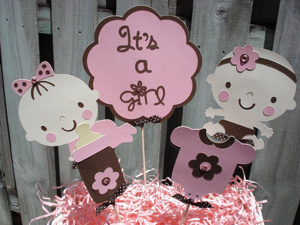 Baby Girl Shower Decorations Pinterest