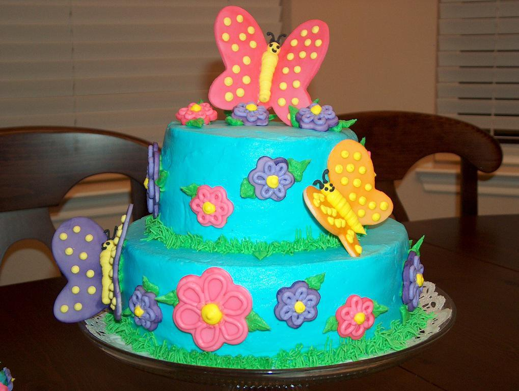 Image of: Baby Shower Butterfly Decorations