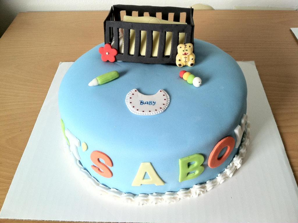 Image of: Baby Shower Cake Decorations Ideas For Boy