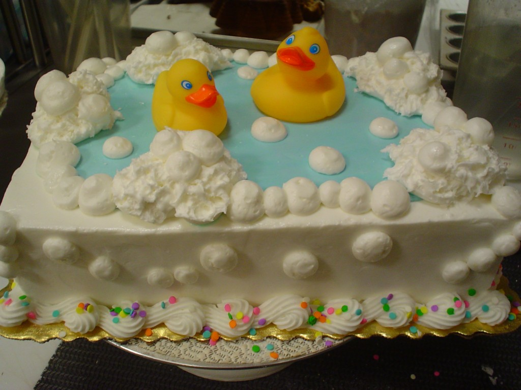 Image of: Baby Shower Cakes Funny